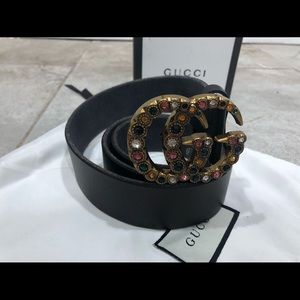 👐Slightly use Gem Multicolored Jewel Belt
